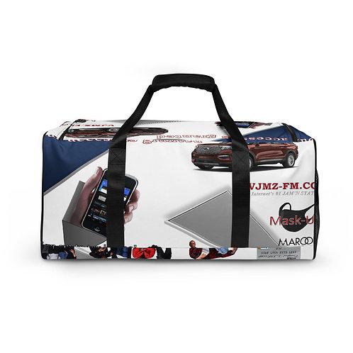 Live Music Fans Appreciation Celebration Tour Travel Duffle bag