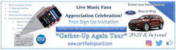 Gather Up Again Tour Banner