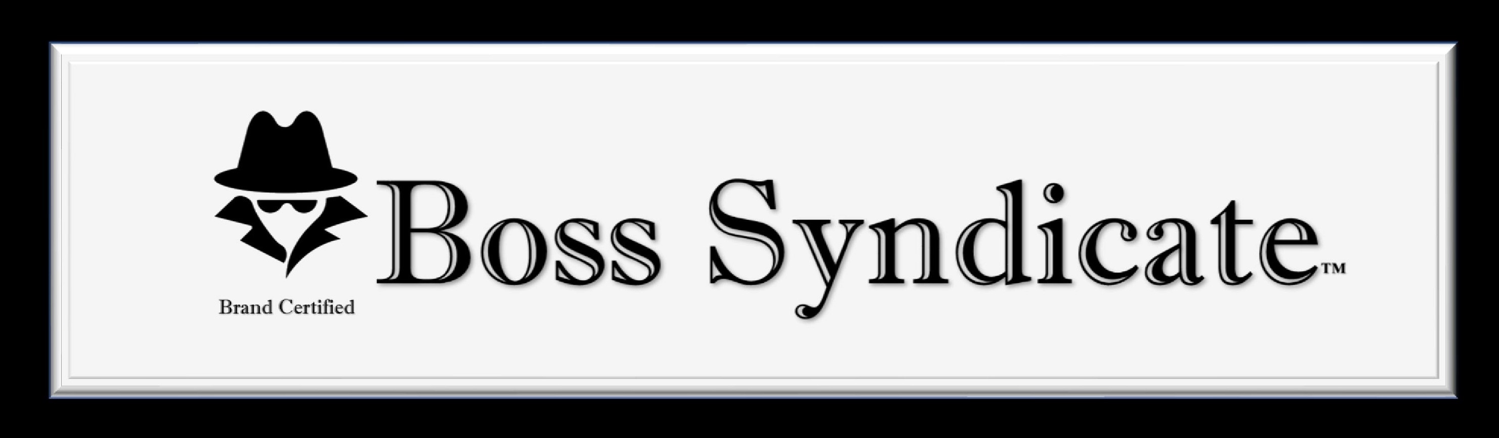 Boss Syndicate Official Brand Certified