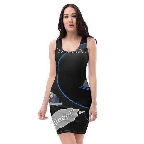 It's that bounce affect ladies Sublimation Cut & Sew Dress