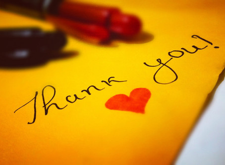 How to Write a Thoughtful Thank You Note