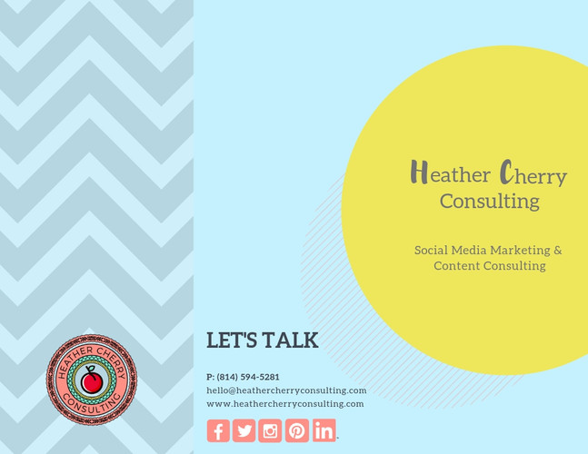 Heather Cherry Consulting Brochure