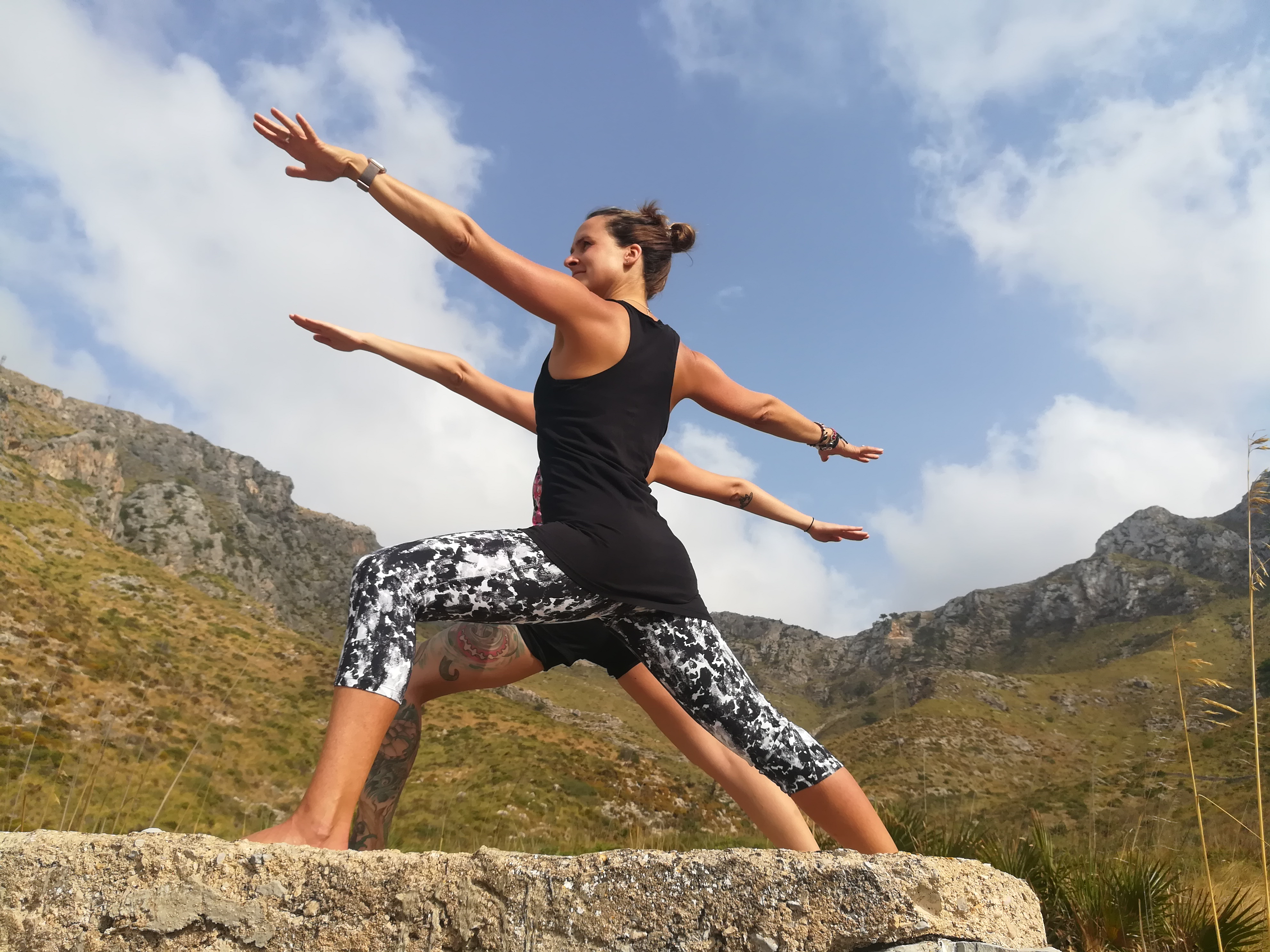 Yoga Sol Mallorca Warrior 2
