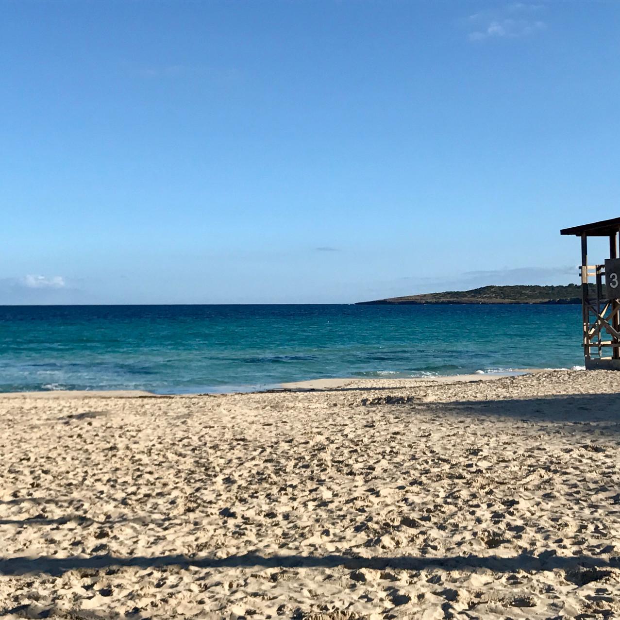 Der Strand von Cala Millor - kleines Paradies