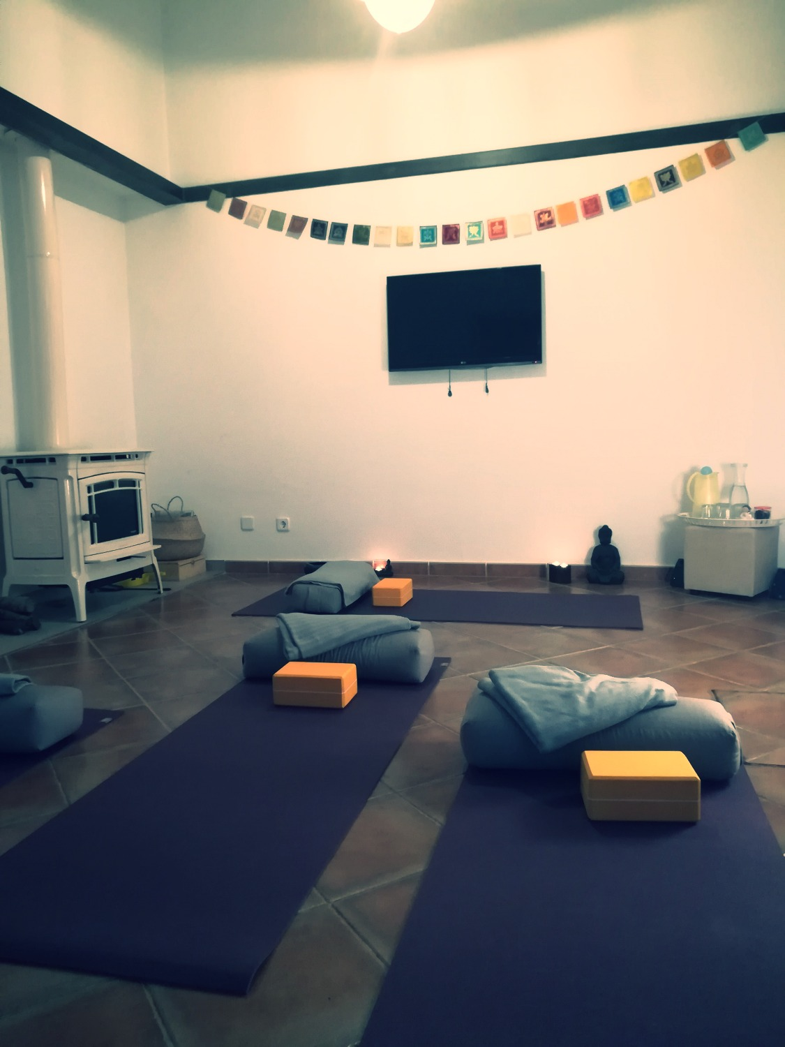 YOGA to go private house