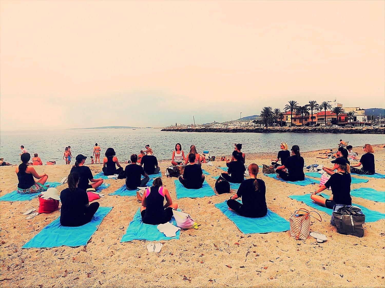 Yoga class for enterprises