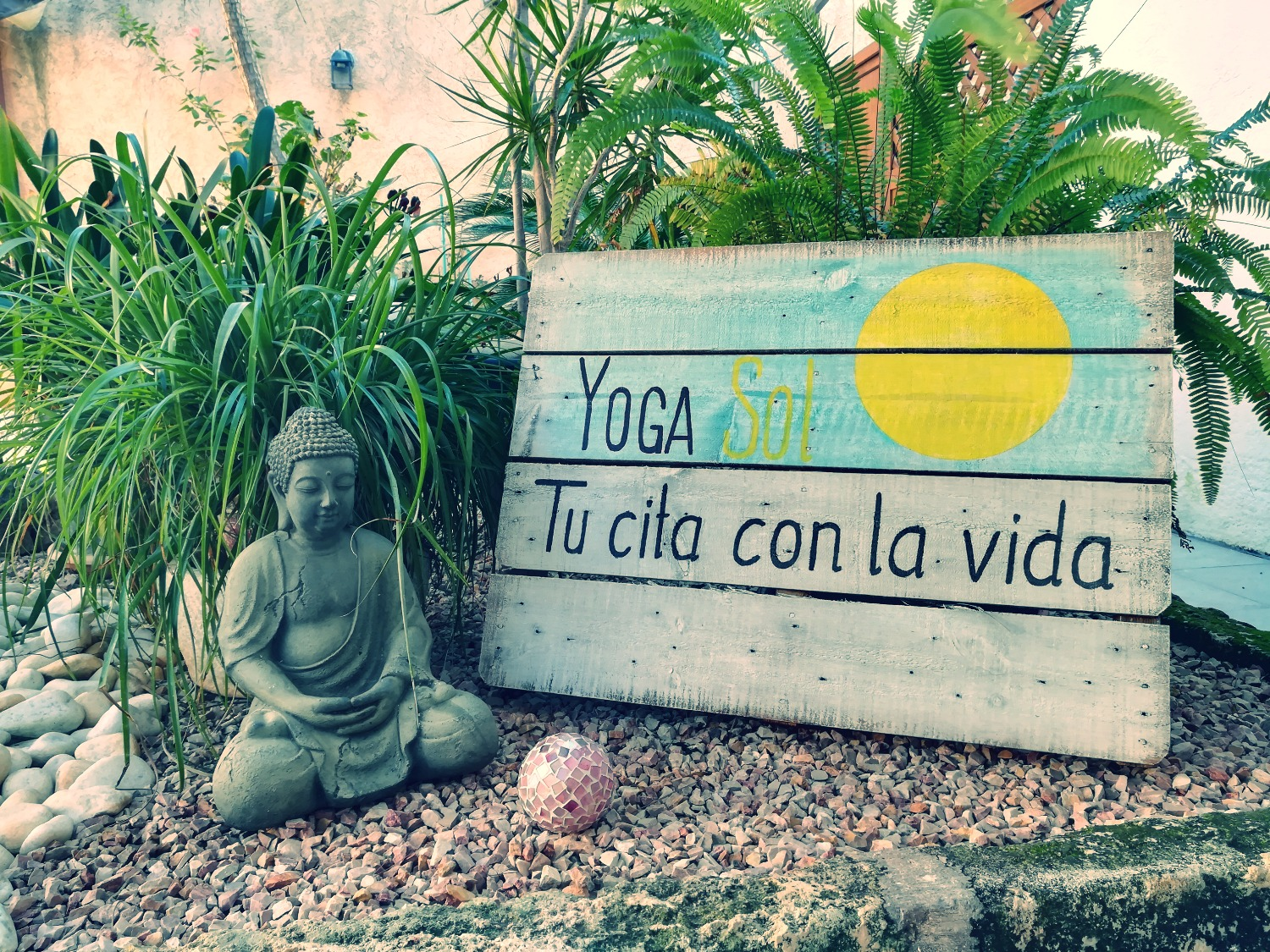 Yoga Sol Mallorca Patio