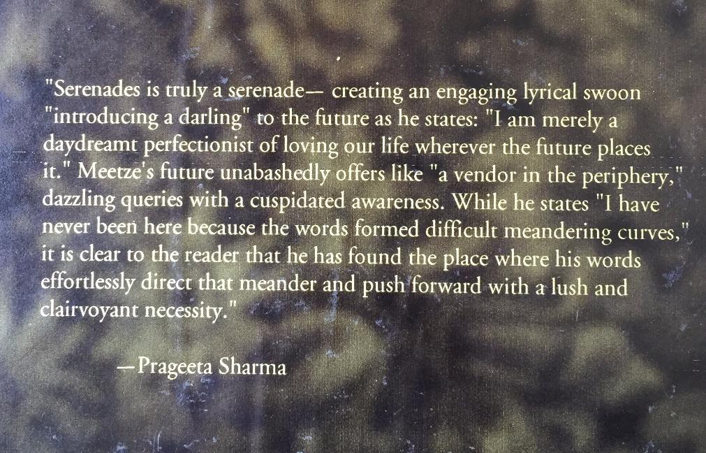 Blurb: Prageeta Sharma