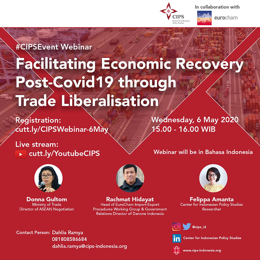 Facilitating Economic Recovery Post-Covid19 through Trade Liberalisation