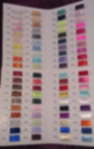 sash colours