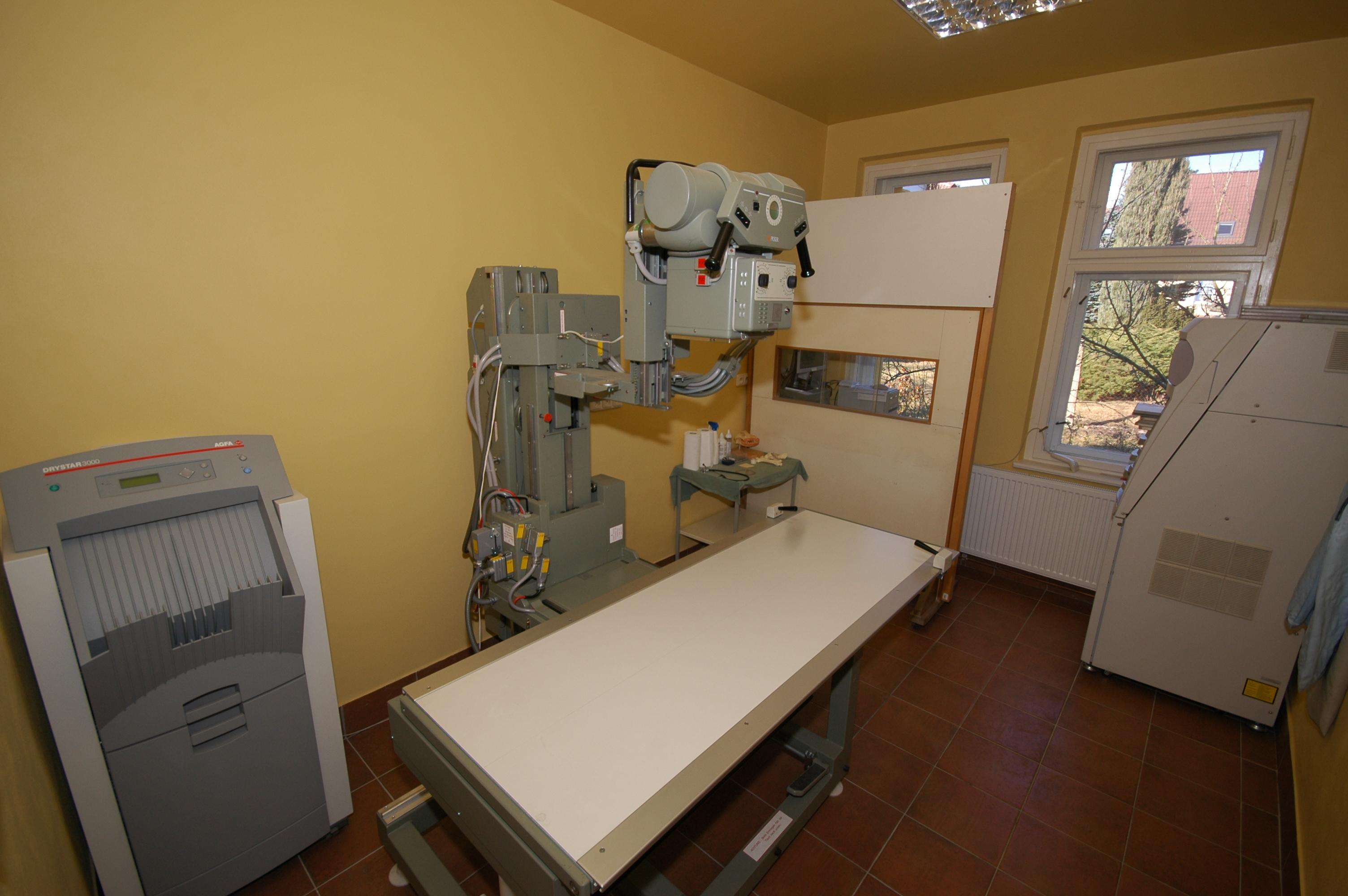 Radiologická vyšetřovna