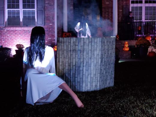 #TheRing The Ring Samara Brian Taillon Halloween Yard Haunt