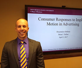 Dr. Brian J. Taillon Implied Motion Dissertation