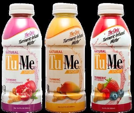 12 Bottles Mixed - Mango, Berries, Pomegranate