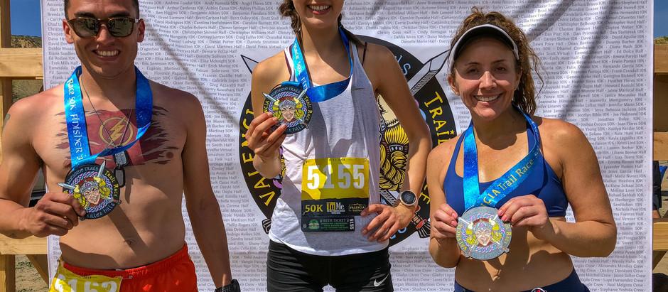 valencia trail race 10k/ half marathon/ 50k ultra