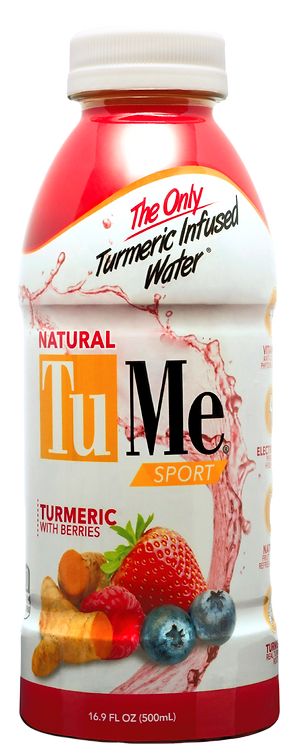 TuMe Turmeric Water +Berries