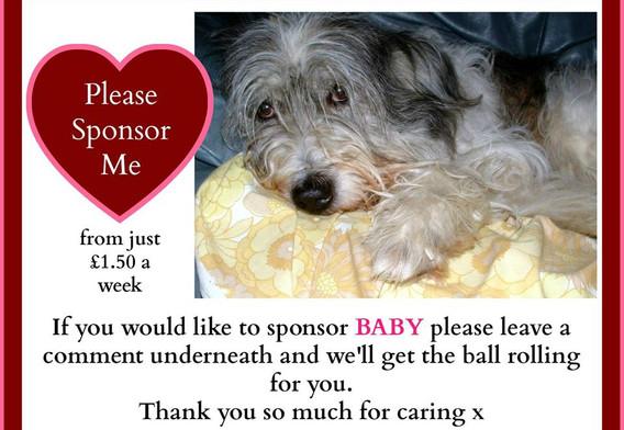 Please sponsor Baby