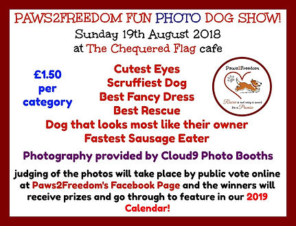 Photo Dog Show Notice