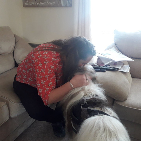 Bailey and his new mum
