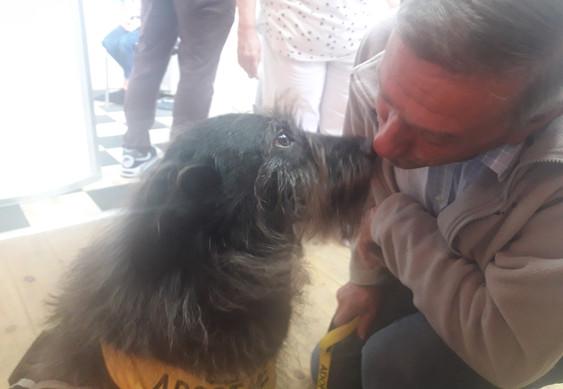 Kisses with John