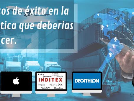 Conoce los mejores sistemas de logística del mundo a través de estas 3 multinacionales.