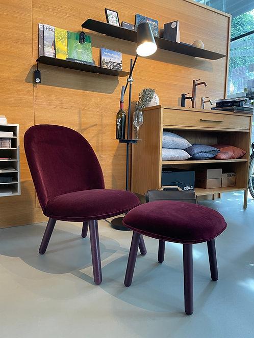 Ace Lounge Chair inkl. Fusshocker Normann Copenhagen