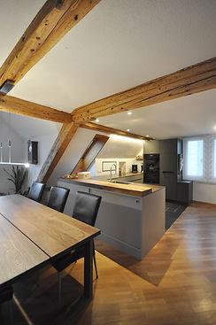 02 Küche in Dachstock