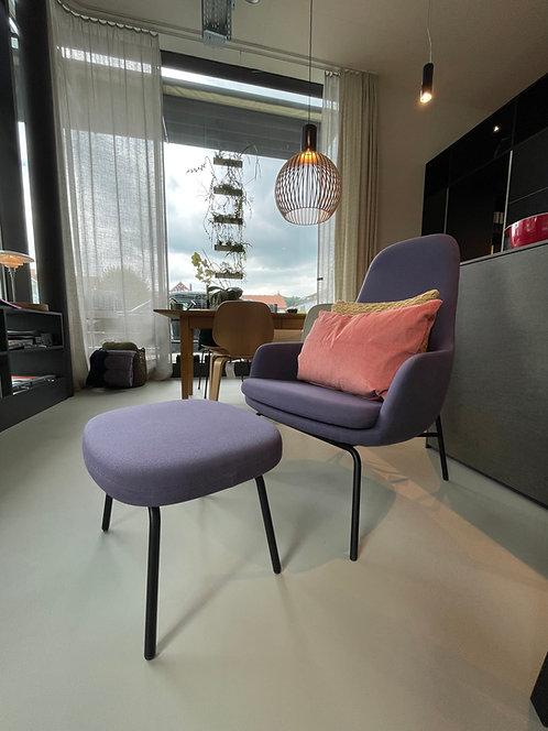 Era Lounge Chair High inkl. Fusshocker Normann Copenhagen
