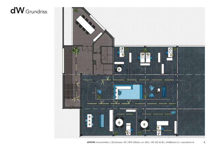 diWOHN Projekt Büroplanung
