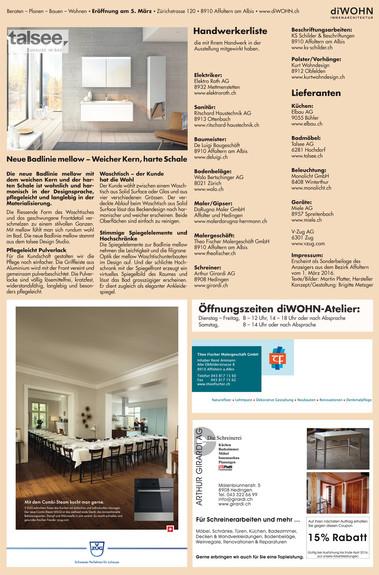 diWOHN Zeitungsbericht