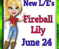 Add a fiery touch with the Fireball Lily! (Market LE Items) June 24 2019