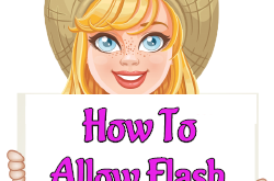 How To Allow Flash