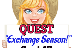 """Exchange Season!""  QUEST                Sept 17 2019"