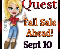 """Fall Sale Ahead!""  Quest  Sept 10 2019"