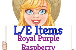 Grow the scrumptious Royalty Purple Raspberry! (Market LE Items) Oct 7 2019