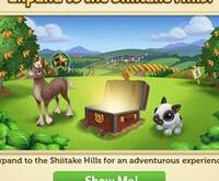 Expand to the Shiitake Hills!  Nov 18 2019