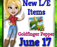 Spice up your life with the Goldfinger Pepper! (Market LE Items) June 17 2019