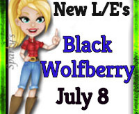 New L/E Items  Black Wolfberry            July 8 2019