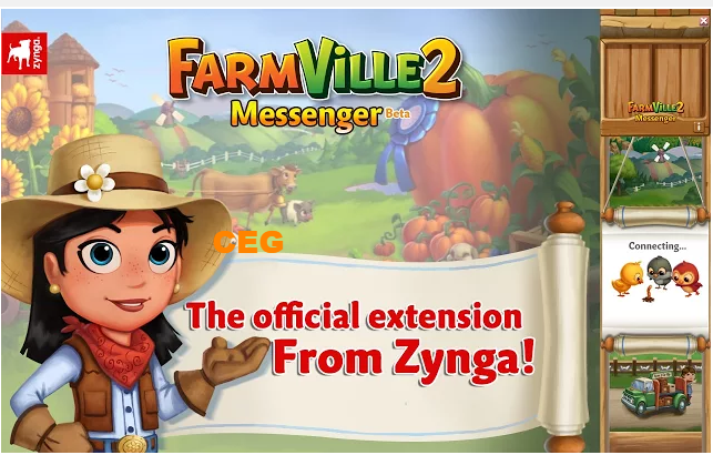 FarmVille 2 Messenger...Official extension from Zynga