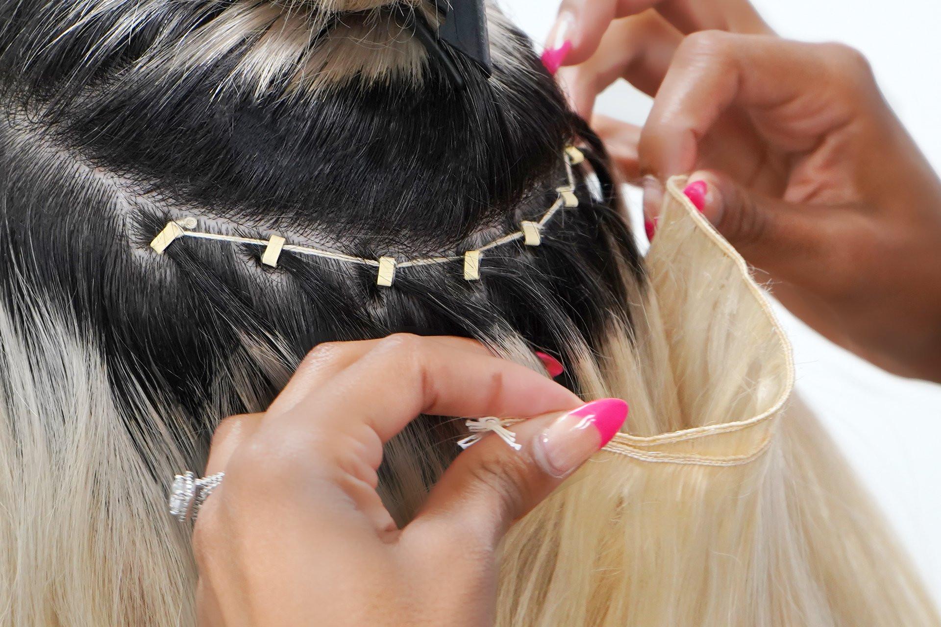 LA weave (Braid-less weave)