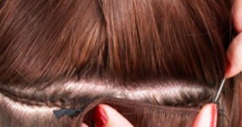 Braided weft rows