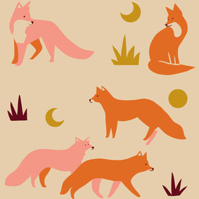 Lagom Animal Wrapping paper