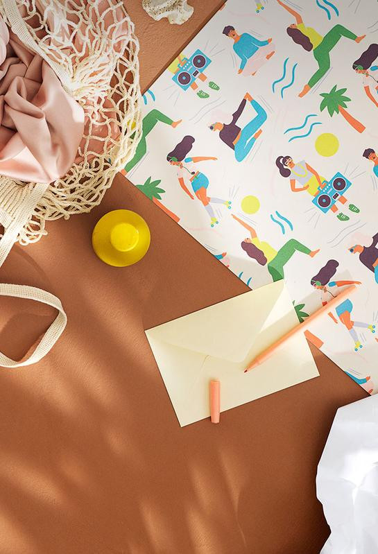Lagom wrapping paper