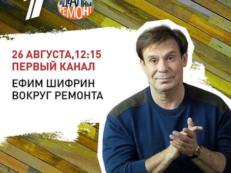 OIKOS в Идеальном Ремонте на Первом канале. Гостевой домик Ефима Шифрина