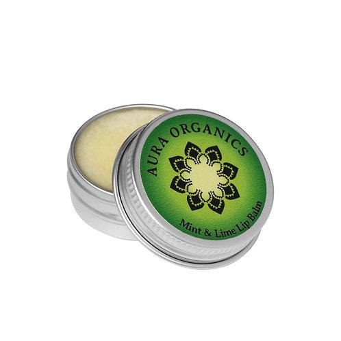 Vegan Organic Lip Balm Lime