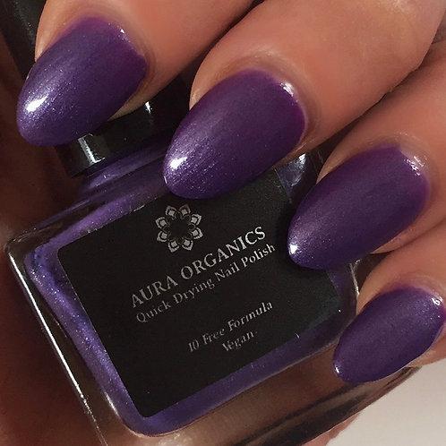 Cruelty Free Nail Varnish - Cosmic Purple