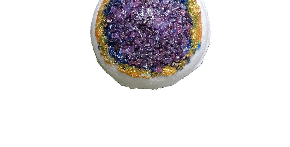 Purple Enchant Geode Bath Bomb
