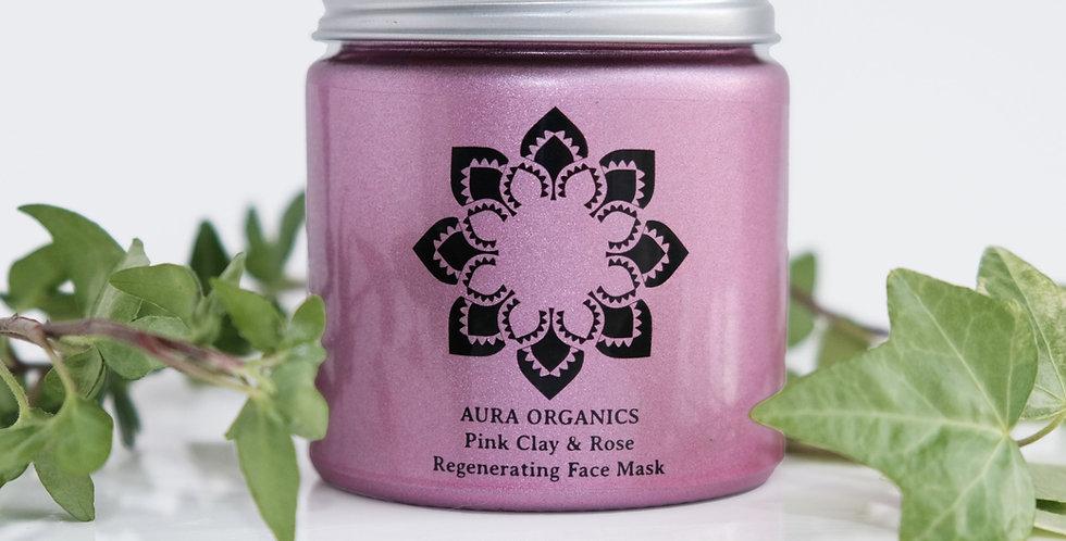Rose & Matcha Green Tea Antioxidant Rich Healing Face Mask
