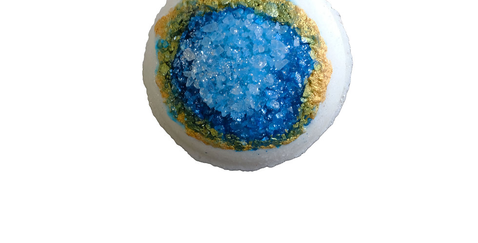 Tranquil Turquoise Geode Bath Bomb