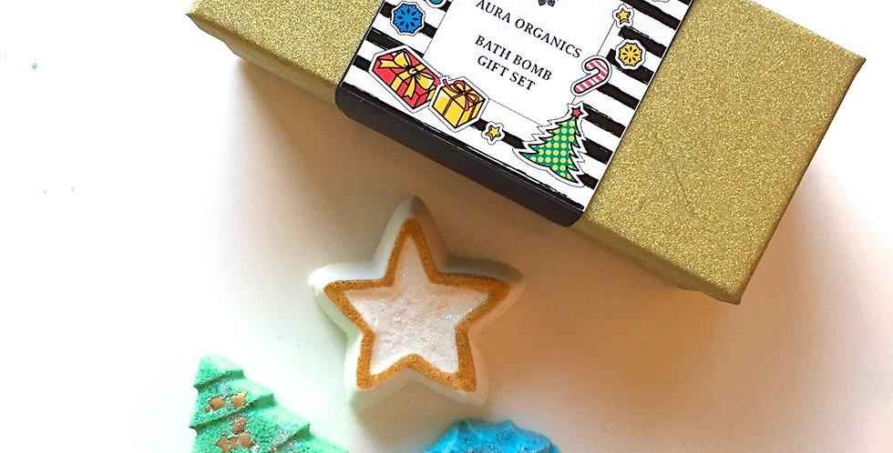 Christmas Bath Bomb Gift Set